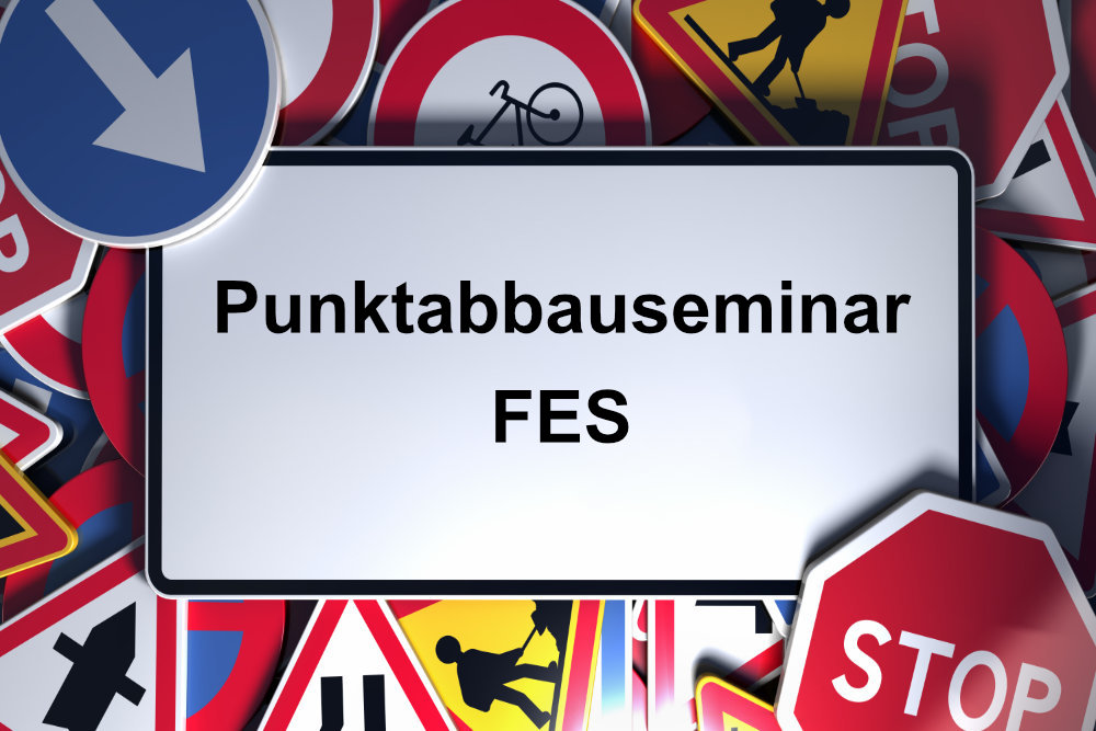 Verkehrsfachschule Reimertshofer: Punktabbauseminar FES